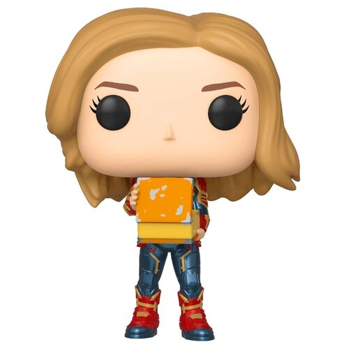 Фигурка Funko POP! Captain Marvel - Капитан Марвел с тессерактом 37685 фигурка funko pop captain marvel мария рамбо 37585