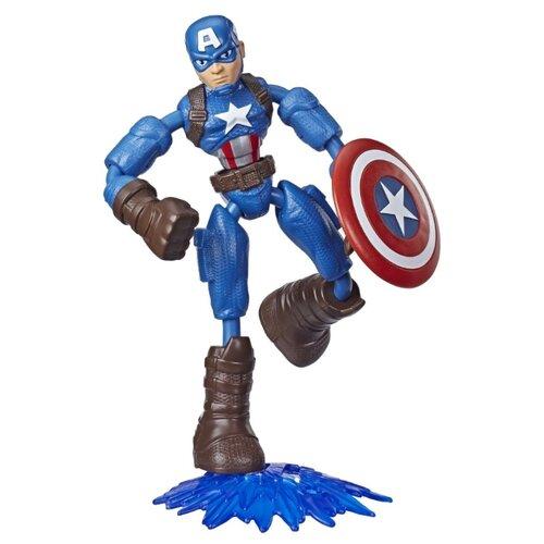 Купить Hasbro Bend And Flex: Avengers Капитан Америка E7869, Игровые наборы и фигурки
