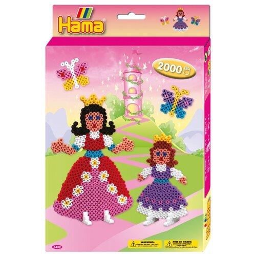 Hama Набор термомозаики Принцессы (3432)