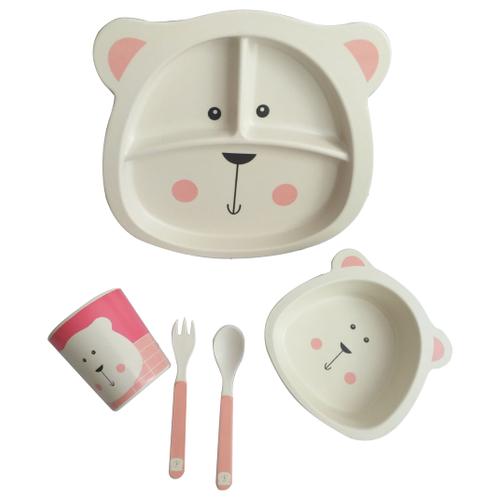 Комплект посуды Baby Ryan BF015 медведьПосуда<br>