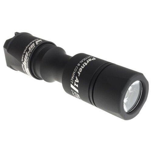 Тактический фонарь ArmyTek Partner A1 v3 XP-L (белый свет) черный
