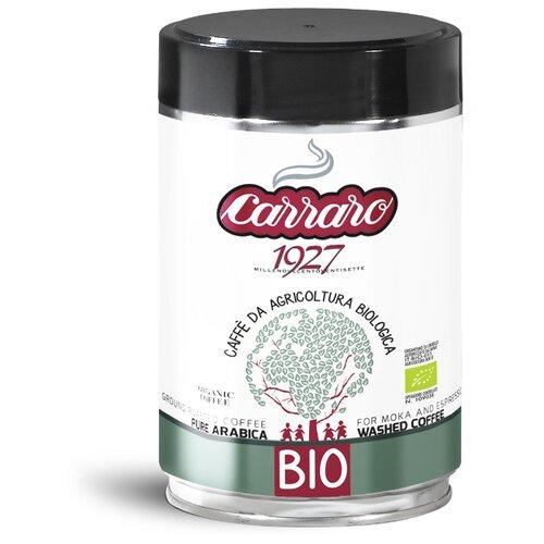 Фото - Кофе молотый Carraro BIO, 250 г кофе молотый carraro india 250 г