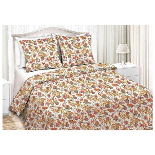 Постельное белье 1.5-спальное Текстильная лавка Арле 70 х 70 сатин белый/красный/синий