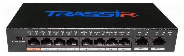 Коммутатор TRASSIR TR-NS1010-96-8PoE