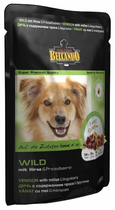 Корм для собак Belcando Дичь с содержанием проса и брусники (0.125 кг) 12 шт.