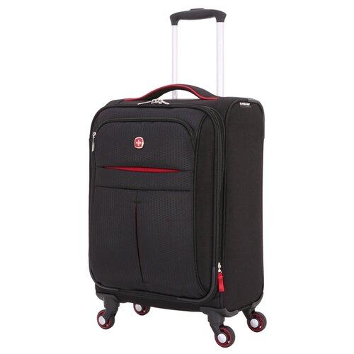 Чемодан WENGER AROSA S 30 л, черный чемодан wenger zurich ii цвет черный 48 см x 30 см x 72 см 104 л