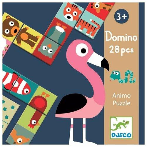 Купить Настольная игра DJECO Домино Животные, Настольные игры