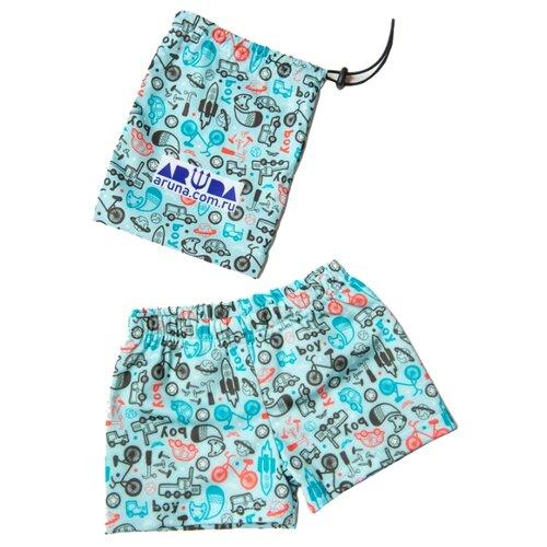 Купить Плавки Aruna размер 122-134, голубой, Белье и пляжная мода