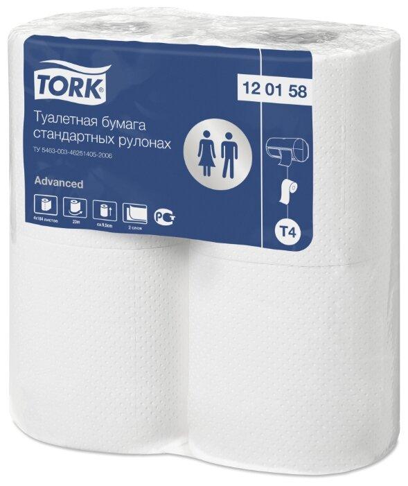 Туалетная бумага TORK Advanced 120158