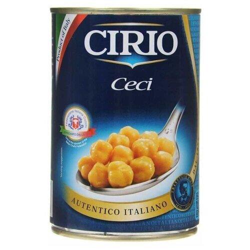 Турецкий горох Cirio консервированный, жестяная банка 400 гБобовые консервированные<br>
