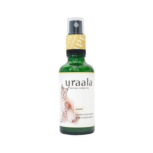 Ura'ala Спрей для укладки волос Light, слабая фиксация, 100 мл joico термозащитный спрей для укладки волос ironclad слабая фиксация 233 мл