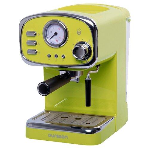 Кофеварка рожковая Oursson EM1505 зеленый