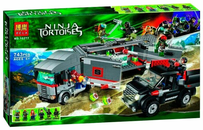 Конструктор BELA (Lari) Ninja Tortoises 10277