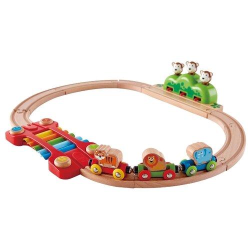 Hape Игровой набор Музыкальная железная дорога, E3825