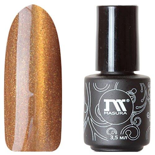 Купить Гель-лак для ногтей Masura Кошачий глаз, 3.5 мл, Золотой мандарин