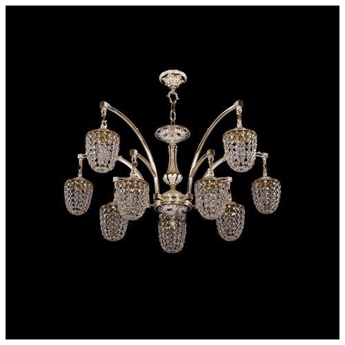 Люстра Bohemia Ivele Crystal 1772 1772/10/342/GW, E14, 400 Вт бра bohemia ivele crystal 1610 1610 3 gw