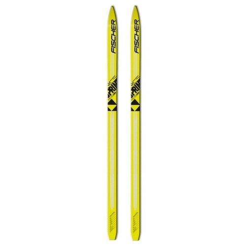 Беговые лыжи Fischer Sprint Crown Jr желтый/черный 160 см fischer беговые лыжи fischer active crown