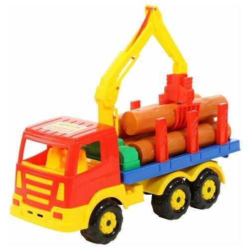 Купить Лесовоз Wader Престиж (44198) 42 см, Машинки и техника