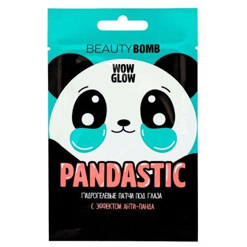 BEAUTY BOMB Гидрогелевые патчи под глаза Pandastic (2 шт.)