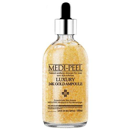 Купить MEDI-PEEL Luxury 24K Gold Ampoule Сыворотка для лица с лифтинг эффектом, 100 мл