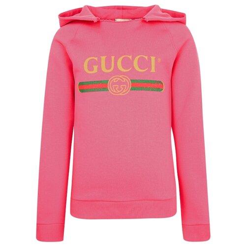 цена Худи GUCCI размер 104, розовый онлайн в 2017 году
