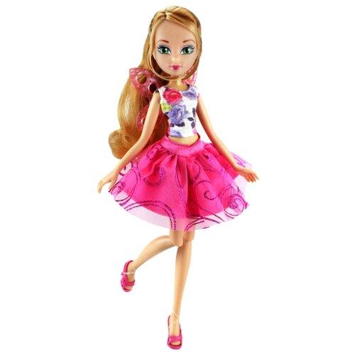 Купить Кукла Winx Club Волшебные крылышки Флора, 27 см, IW01771902, Куклы и пупсы