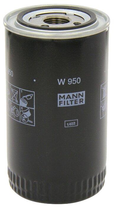 Масляный фильтр MANNFILTER W950