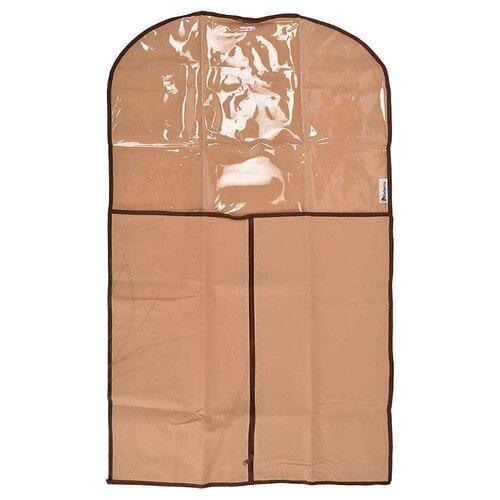 Paterra Чехол для одежды 102х61 см, 402-413 кофейный/шоколадный