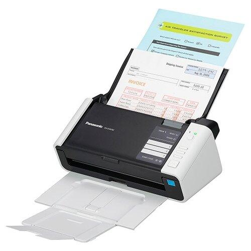 Сканер Panasonic KV-S1037 черный/белый