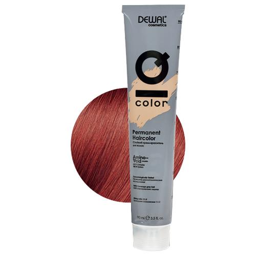 Фото - Dewal Cosmetics Краситель перманентный IQ COLOR, 7.44 Intense copper blonde, 90 мл dewal перманентный краситель iq color 9 44