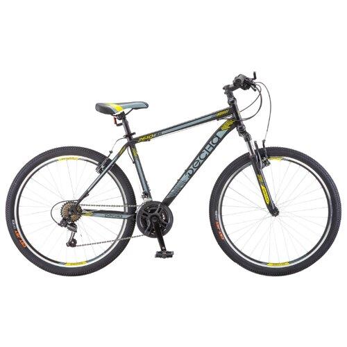 Горный (MTB) велосипед Десна 2610 V (2018) черный/серый 18