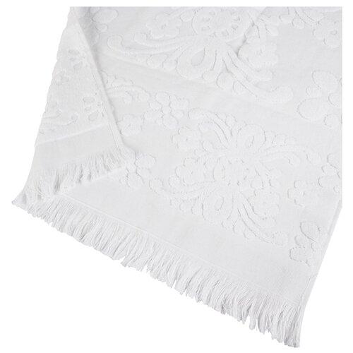 Arya Полотенце с бахромой Isabel Soft банное 70х140 см белый банное полотенце arya 70х140 см jewel