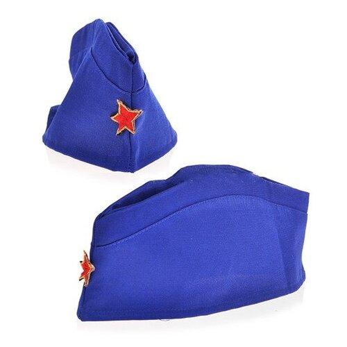 Головной убор КарнавалOFF Пилотка ВВС (6199), синий, размер 53-55