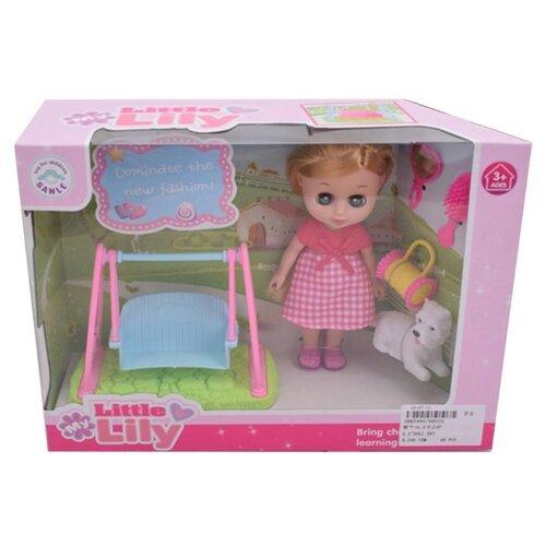 Кукла Наша игрушка Лилли 16 см 68022 игрушка