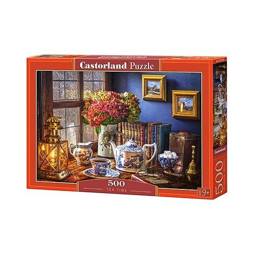 Пазл Castorland Tea Time (B-53070), 500 дет. пазл castorland tall ship leaving harbour b 52851 500 дет