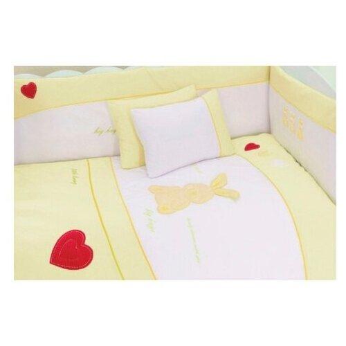 Купить Комплект из 6 предметов серии My Little Rabbit (Ecru), Kidboo, Постельное белье и комплекты