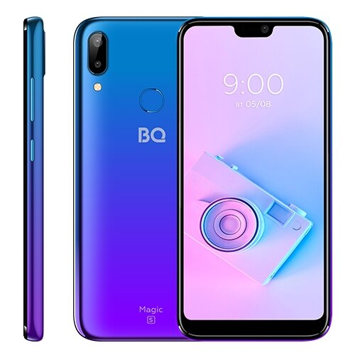 Смартфон BQ 5731L Magic S ультрафиолетовый сотовый телефон bq 5731l magic s deep blue