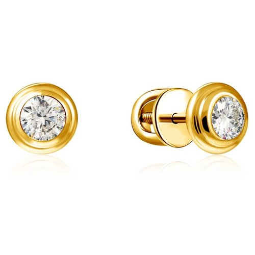 Бронницкий Ювелир Серьги из желтого золота 56319615000 бронницкий ювелир серьги из желтого золота ю1e27689r