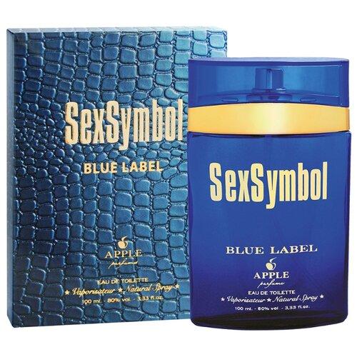 Туалетная вода Apple Parfums SexSymbol Blue Label, 100 мл apple parfums туалетная вода gladiator noir мужская 90 мл