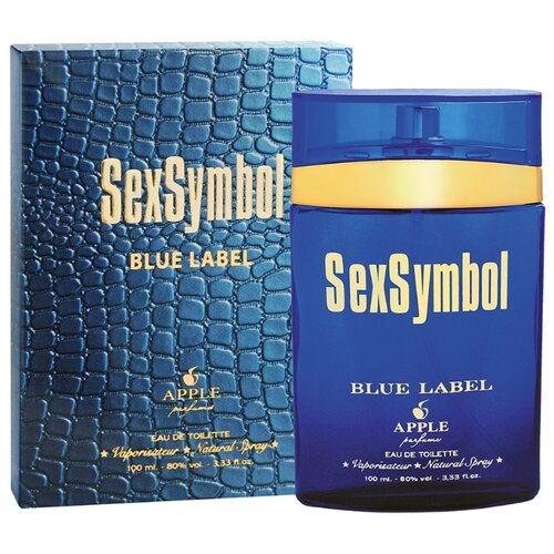 Туалетная вода Apple Parfums SexSymbol Blue Label, 100 мл apple parfums b 52 туалетная вода 80 мл
