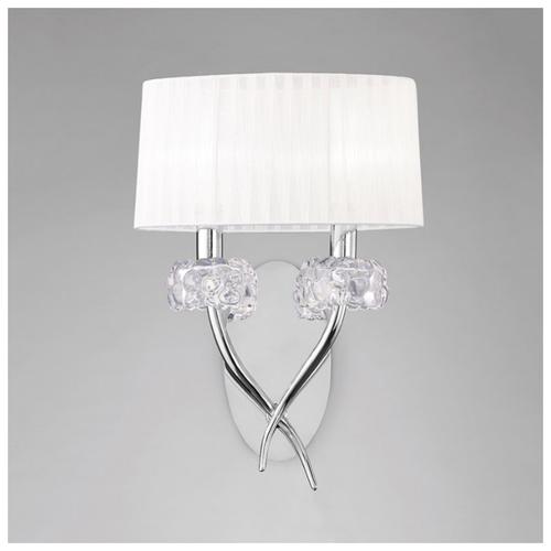 Настенный светильник Mantra Loewe 4634, 26 Вт бра mantra loewe 4635
