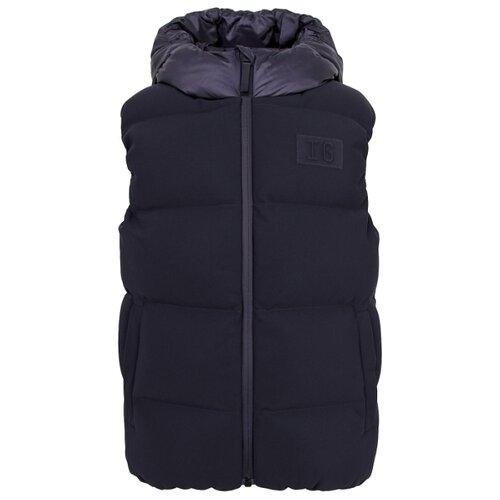 Купить Жилет Il Gufo A20GT028N0068 размер 140, темно-синий, Куртки и пуховики