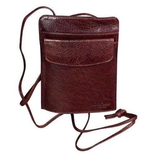 Нагрудный кошелек Dr.Koffer X269230-02, натуральная кожа коньяк кошелек reconds сompact натуральная кожа коньяк