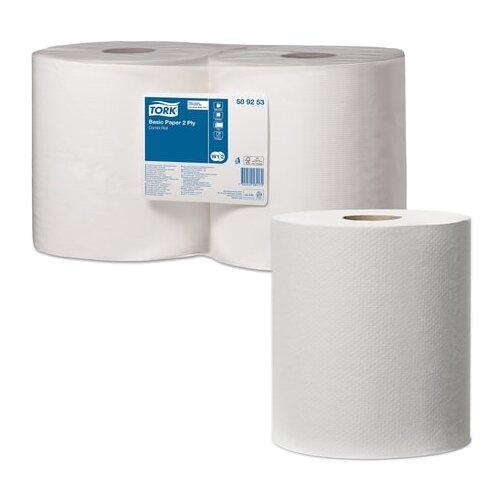 Купить Бумага протирочная TORK (Система W1, W2), комплект 2 шт., Universal, 800 листов в рулоне, 33х25, 5 см, 2-слойная, 509253