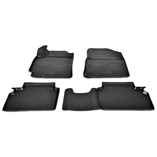 Комплект ковриков NorPlast NPA11-C43-073 Kia Cerato 4 шт. черный