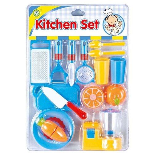 Набор продуктов с посудой S+S Toys 100980139 голубой/желтый likeu s no6 желтый