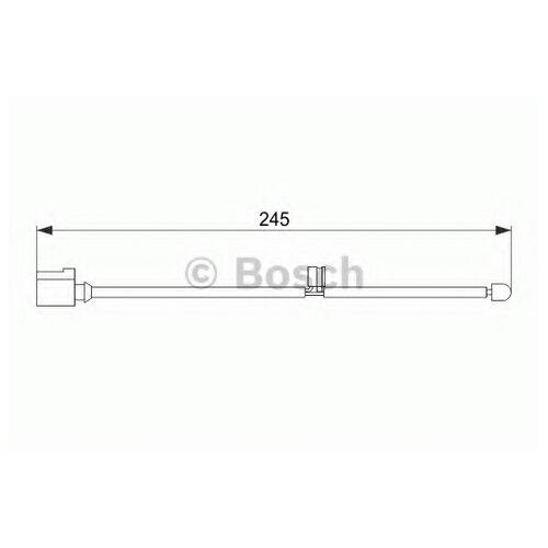Датчик износа тормозных колодок задний Bosch 1987474563 для Audi Q7, Porsche Cayenne