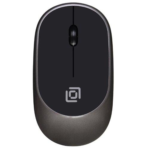 Беспроводная мышь OKLICK 535MW Black-Grey USB набор oklick 210m black black