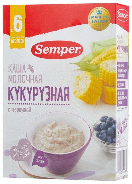 Каши «Semper»: молочные и безмолочные
