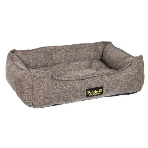 Лежак для животных Сolour PRIDE Прованс 60х50х18 см коричневый недорого